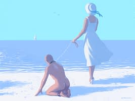 the beach by sardax